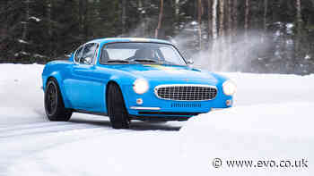 414bhp Volvo P1800 Cyan restomod hits the ice in new video