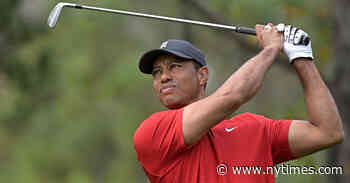 Tiger Woods Is Injured in Car Crash in Los Angeles County