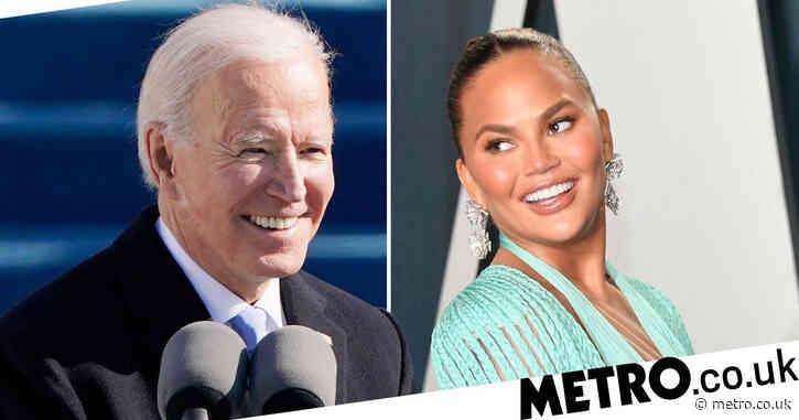 Chrissy Teigen seeks comfort in Ben and Jerry's as she's unfollowed by President Joe Biden