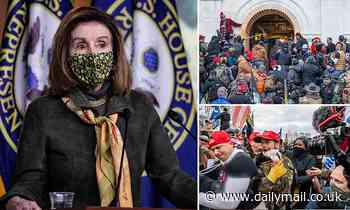 Pelosi and Republicans trade blows on make-up of 9/11-style insurrection commission
