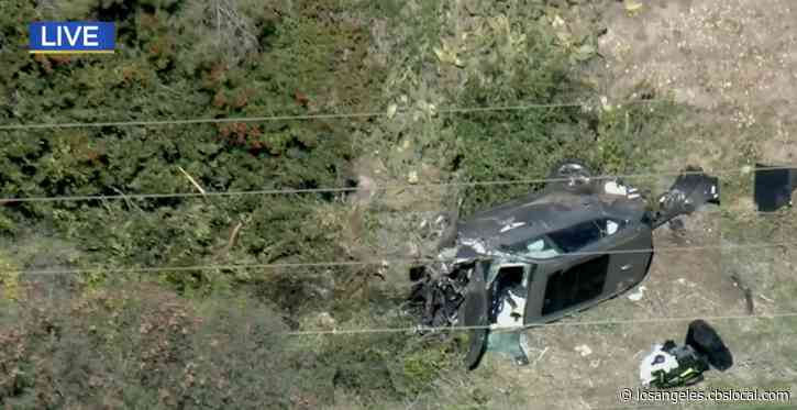 Tiger Woods Hospitalized For 'Multiple Leg Injuries' In Rollover Crash In Rancho Palos Verdes