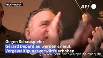 Vergewaltigungsvorwürfe: Ermittlungsverfahren gegen Depardieu