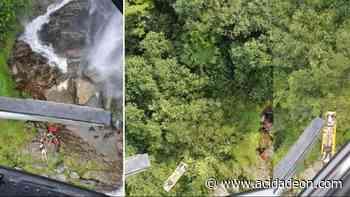 Aventura em cachoeira no litoral paulista acaba em acidente - ACidade ON