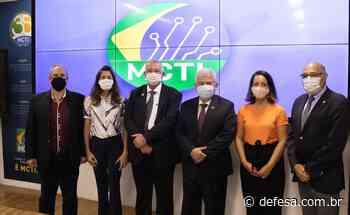 Prefeito de Cachoeira Paulista trata de atuação do CPTEC/INPE/MCTI com ministro Marcos Pontes - Defesa - Agência de Notícias