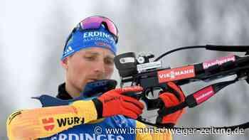 Biathlon-Routinier: Lesser selbstkritisch: Schlechteste WM meiner Karriere