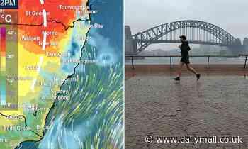Storms, thunder, rain batter Australia - with Sydney hit by flooding