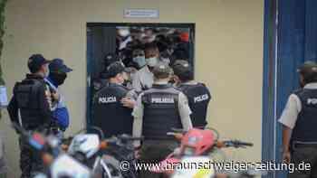 Kriminalität: Mehr als 50 Tote bei Gefangenenmeutereien in Ecuador