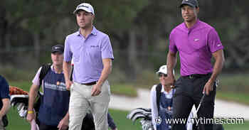 Justin Thomas on Woods's Accident: 'I'm Sick to my Stomach'