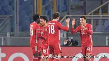 Champions League: 4:1-Geschenk für Flick: Bayern demütigen Lazio Rom