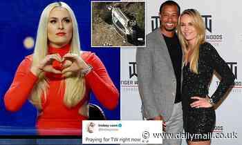 Tiger Woods car crash: Ex Lindsey Vonn says she is 'praying' for him