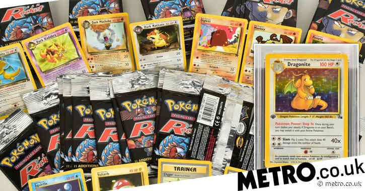 Collection of Pokemon cards expected to sell for £100,000