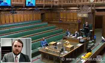 MP Jonathan Gullis is SNUBBED as he tries to address chamber via Zoom without donning a suit