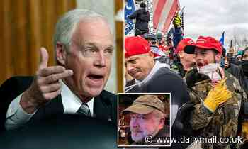 Ron Johnson makes conspiracy theory claims that anti-Trump 'agents provocateur' incited violence