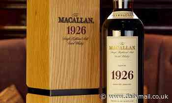 Macallan 1926 'holy grail' of whisky fetches £1m at auction... for just ONE bottle