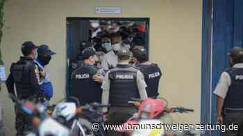 Kriminalität: Fast 70 Tote bei Gefangenenmeutereien in Ecuador