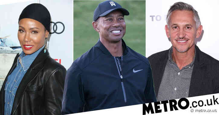 Jada Pinkett Smith and Gary Lineker share support for Tiger Woods after car crash: 'Prayers up for the goat'
