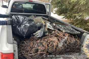 Lacombe man caught stealing scrap metal in Bonnyville - Lacombe Express