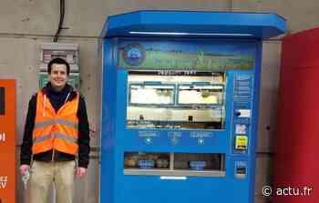 Val-d'Oise. Ermont-Eaubonne : un distributeur de fruits et légumes bio en circuit court à la gare - La Gazette du Val d'Oise - L'Echo Régional