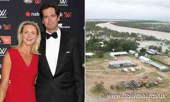 AFL boss Gillon McLachlan splashes out on a stake in a $104million cattle farm