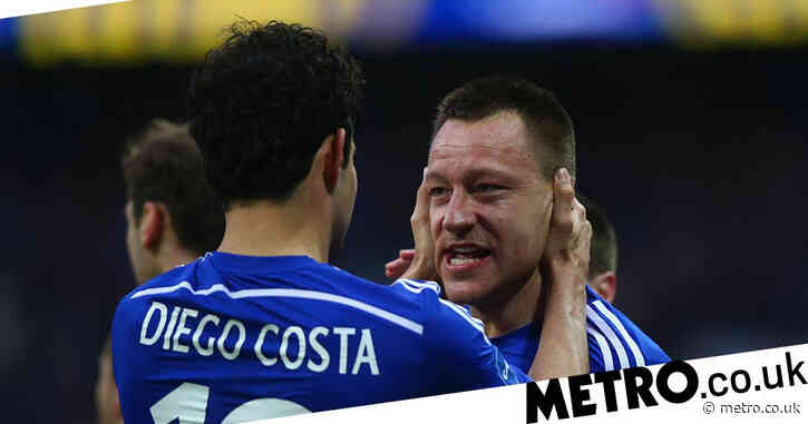 John Terry and Diego Costa exchange messages as Chelsea beat Atletico Madrid