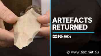 Indigenous artefacts returned to Australia after decades in Israeli museum
