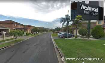 Man is stabbed in the FACE with a nail punch in western Sydney home