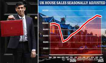 Rishi Sunak 'will extend stamp duty holiday until the end of JUNE'