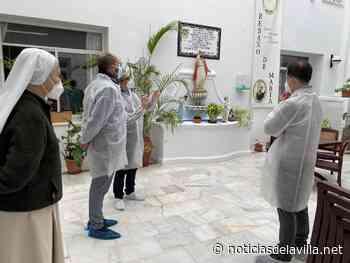 VÍDEOS | Alconchel visita la residencia de mayores San Ramón - Noticias de la Villa