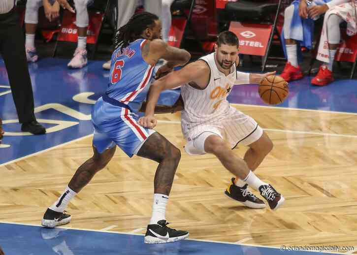 Orlando Magic center Nikola Vucevic isn't flash, but he's an All-Star