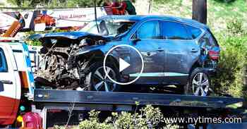 Tiger Woods Was Conscious When Authorities Arrived at Crash