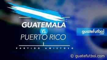 Raquítico triunfo de Guatemala ante Puerto Rico - Guatefutbol.com