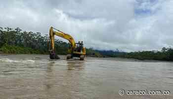 Trabajos en río Arquía disminuirán inundaciones en Vigía del Fuerte - Caracol Radio