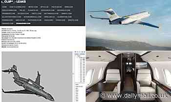 Detailed plans of military spy plane made by Bombardier are leaked onto the dark web
