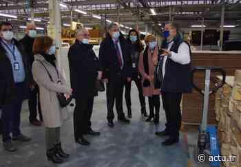 Près de Pacy-sur-Eure, la Région donne une impulsion à l'entreprise Condi Ouest - actu.fr