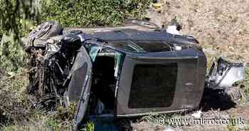 Tiger Woods 'nearly smashed into another car before crash', claims crew member