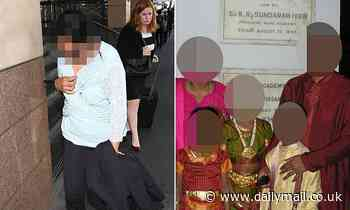 Mother of three allegedly poured HOT curries over the head of suburban Melbourne slave