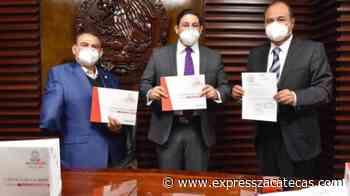 Entrega Gobierno de Tello la Cuenta Pública 2020 - Noticias - Express Zacatecas