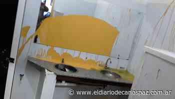 Vandalizaron la terminal de Capilla del Monte - El Diario de Carlos Paz