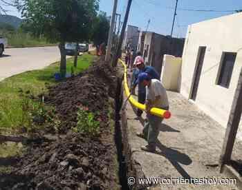 Arrancó el tendido de red de gas natural en Monte Caseros - CorrientesHoy.com
