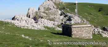 Fallece un montañero en el monte Aloña de Oñati tras precipitarse por un desnivel - Noticias de Gipuzkoa