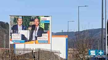 CDU-Wahlplakat in Finnentrop: Da stimmt doch etwas nicht - WP News