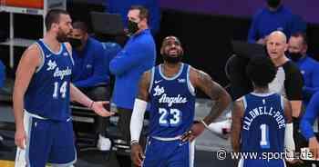 NBA: Brooklyn Nets schlagen L.A. Lakers - LeBron James mit Meilenstein - SPORT1