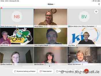 Digitales Treffen mit Vertretern der Kreisjugendringe Nienburg und Schaumburg - SHG-Aktuell.de