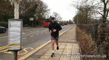 Sporty Niall smashes 29 km run for Age UK Bolton