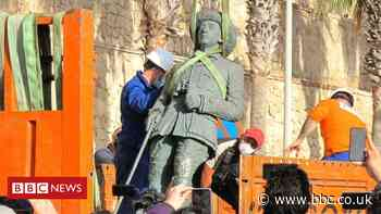 Franco: Melilla enclave removes last statue of fascist dictator on Spanish soil