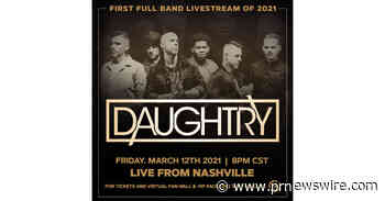 Daughtry Embraces the Next Frontier of Live Music with Gigs Live Interactive Livestream - PRNewswire