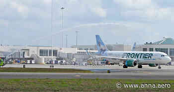 22 Feb 2021 Frontier jets from Orlando to St Thomas - anna.aero