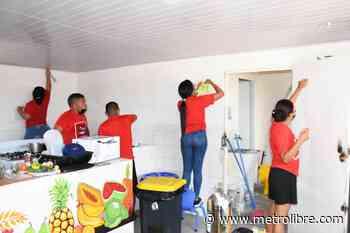 Universitarios limpian los CAIPI de San Miguelito - Metro Libre