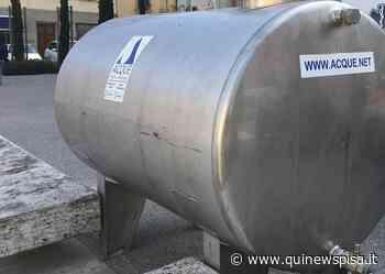 Frazione senza acqua, ci saranno due autobotti - Qui News Pisa