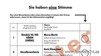 Bürgermeisterwahl Fehmarn: Alle Kandidaten in der Übersicht - fehmarn24.de